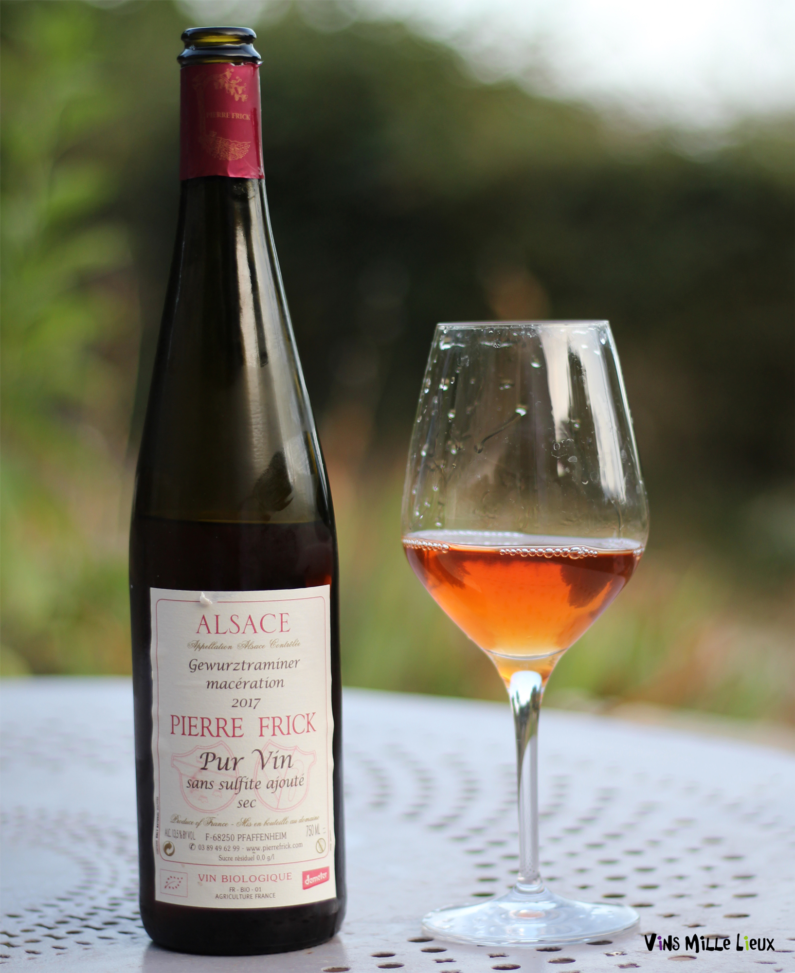 Domaine Frick vin orange