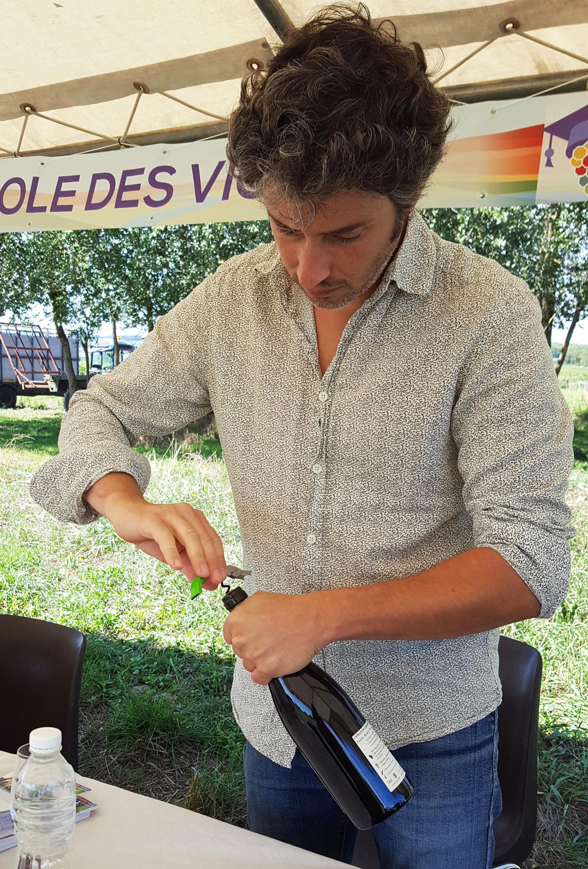 contact atelier dégustation vin