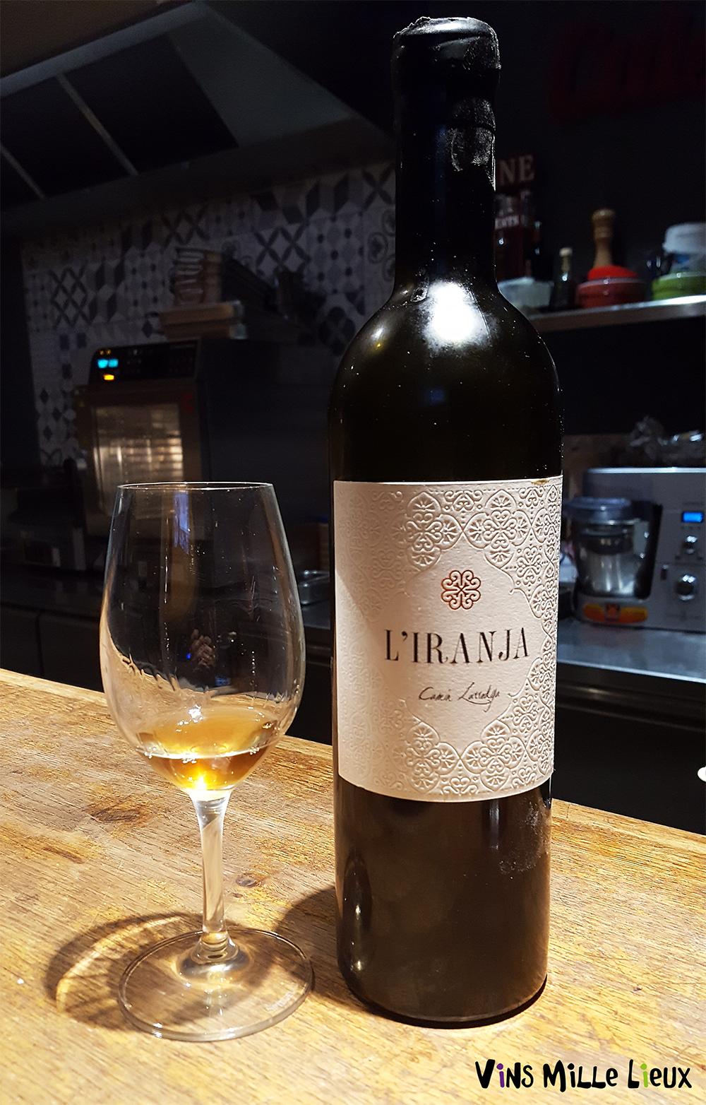 L'Iranja - vin orange