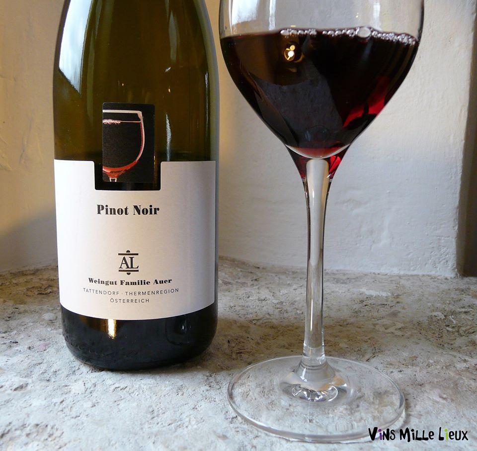 Pinot Noir Familie Auer Autriche