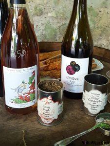 Accord épices et vins Jennifer Barriou et Tibaut Bodet