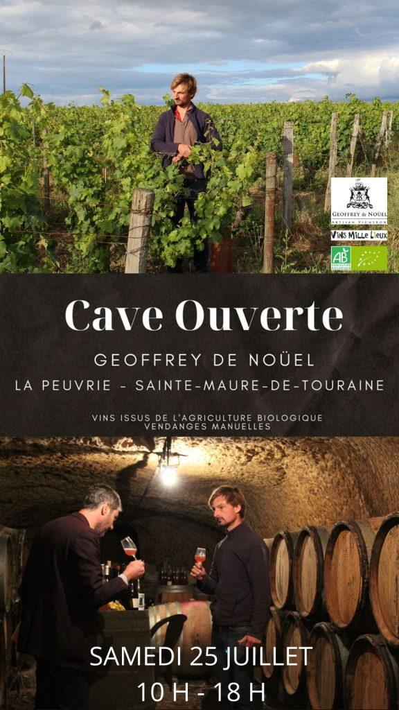 Cave ouverte Geoffrey de Noüel