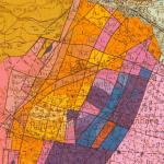 carte géologique du vignoble alsacien