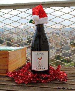 Vin rouge bio pour les fêtes