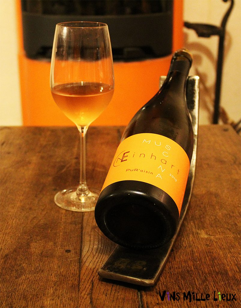 Domaine Einhart Muscana vin orange