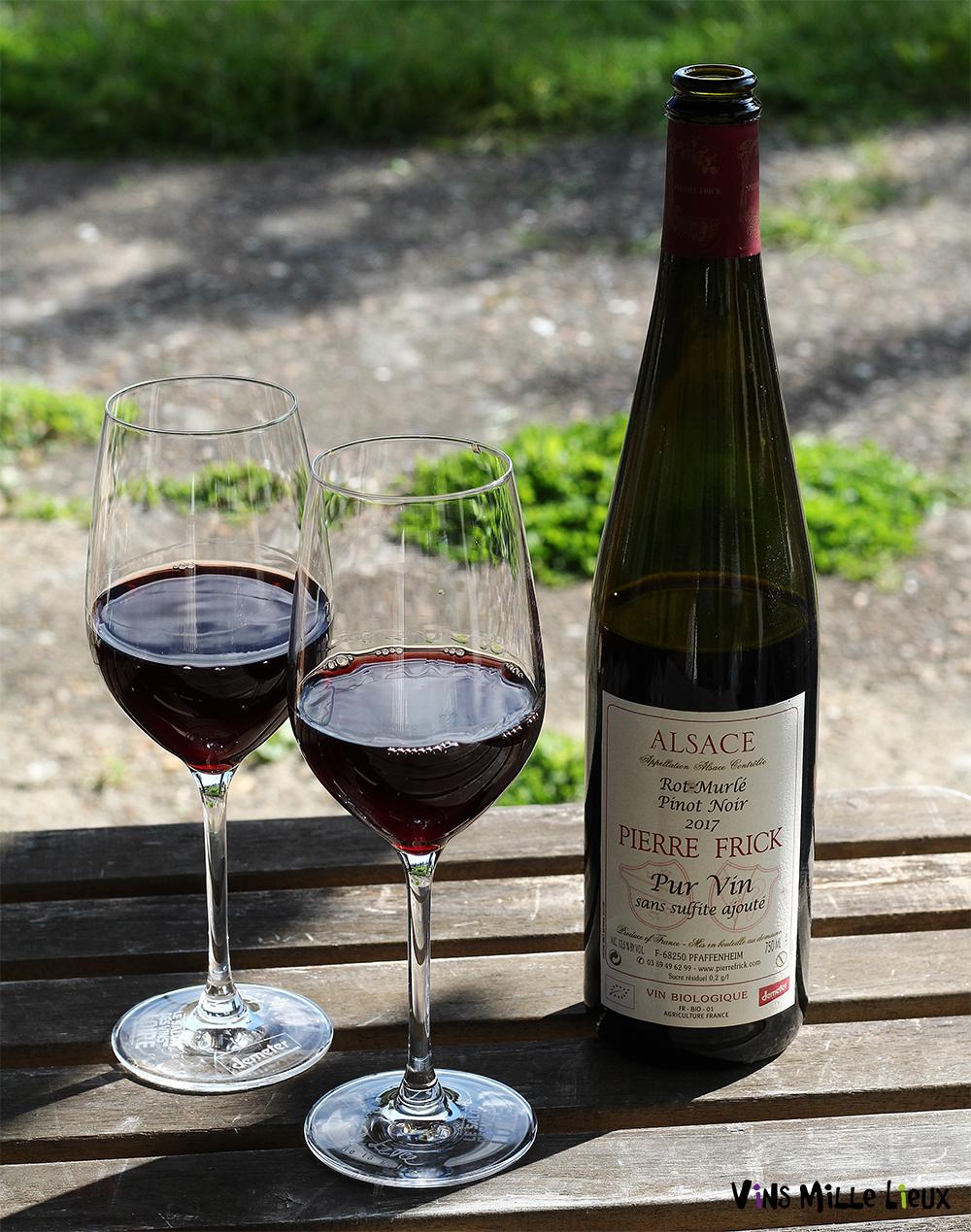Domaine Pierre Frick Pinot Noir