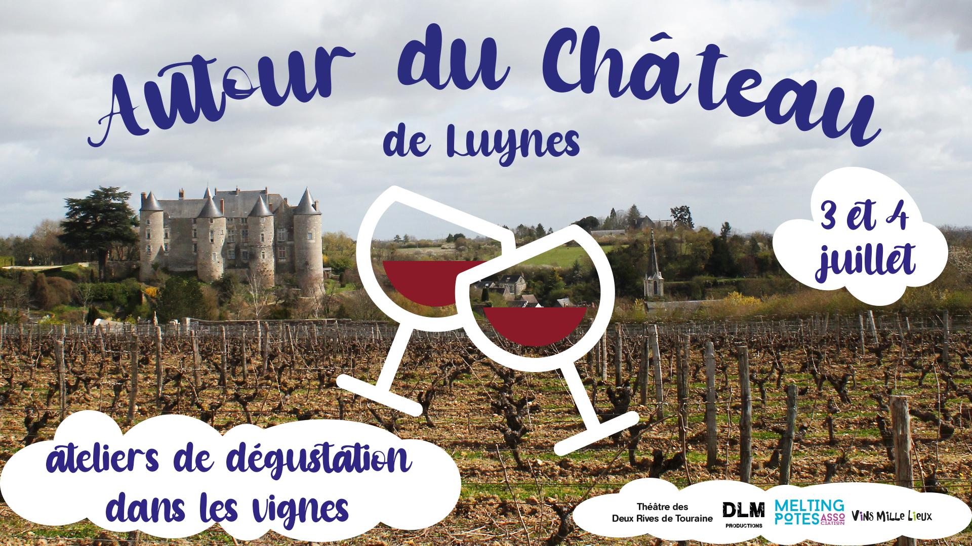 3 et 4 Juillet – Ateliers dégustation dans les vignes de Timothée Delalle (Luynes – 37)