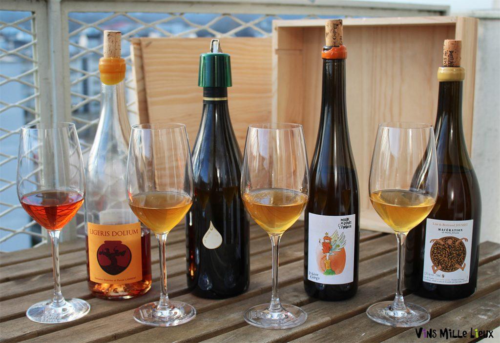 vins blancs de macération Touraine