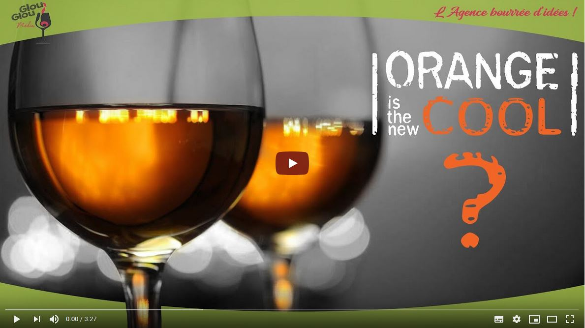 Le vin orange… en vidéo !