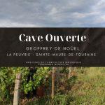 Cave ouverte domaine Geoffrey de Nouel AOC Touraine